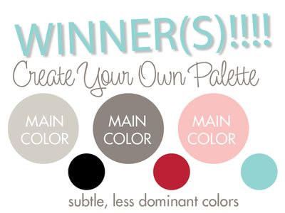2 CHALLENGE CREATE YOUR OWN PALETTE
