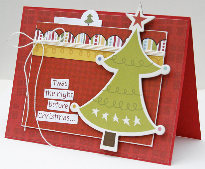 Gretchen McElveen_Christmas card_Night before Christmas card