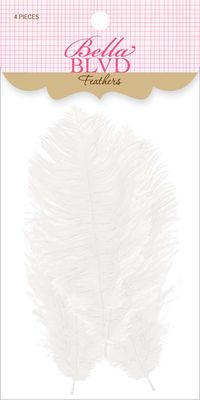 558 WHITE FEATHERS