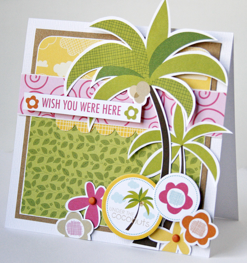 Gretchen McElveen_Sand Surf card_Wish you were here card