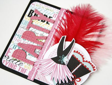 Gretchen McElveen_Feathers_Party card close up
