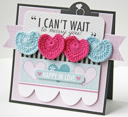 Gretchen McElveen_Crochet Hearts_Can't Wait to Marry You card