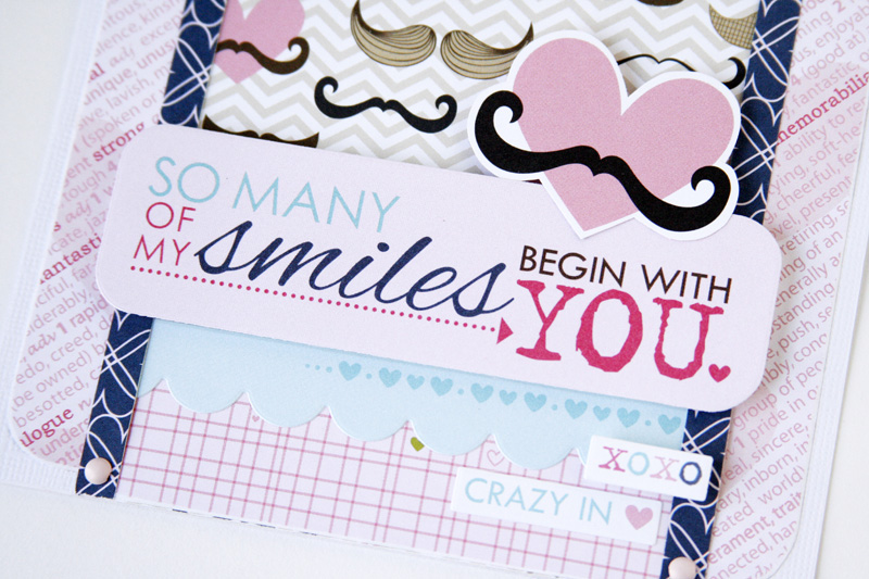 Gretchen McElveen_Kiss me_So Many Smiles card close up