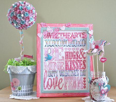 WendyAntenucci_Valentine's Decor