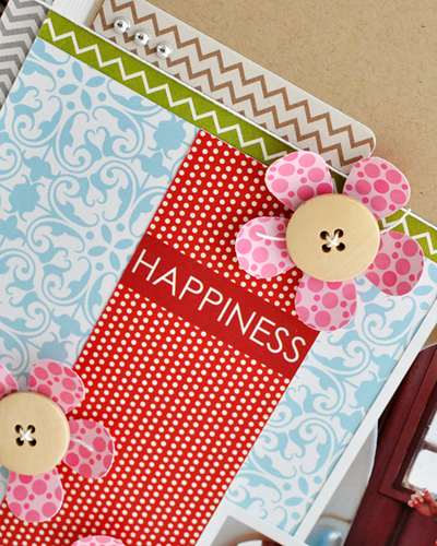 Happiness - layout - Sheri Reguly - detail 1