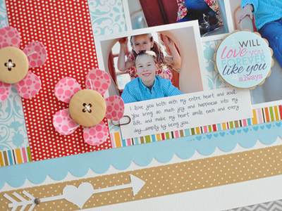 Happiness - layout - Sheri Reguly - detail 3