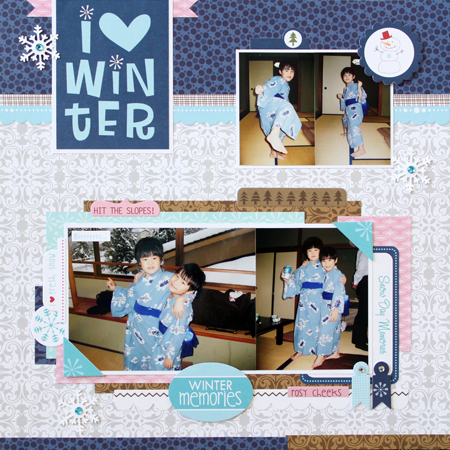 Yohko Takiguchi_I {heart} winter_layout
