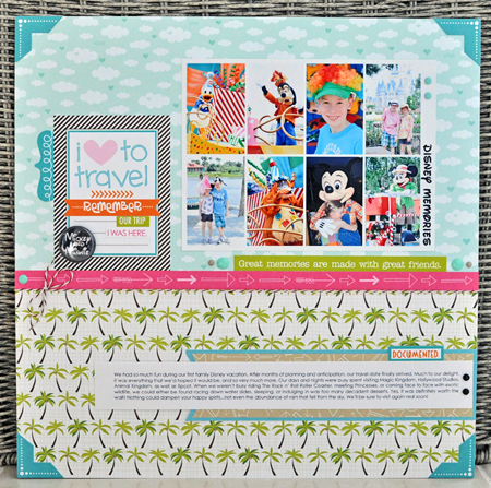 Sheri Reguly _ Layout _ Disney Memories