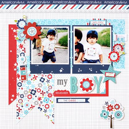 Yohko Takiguchi_my boy_layout