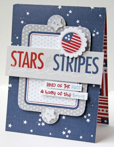 Gretchen McElveen_All American_Stars and Stripes card