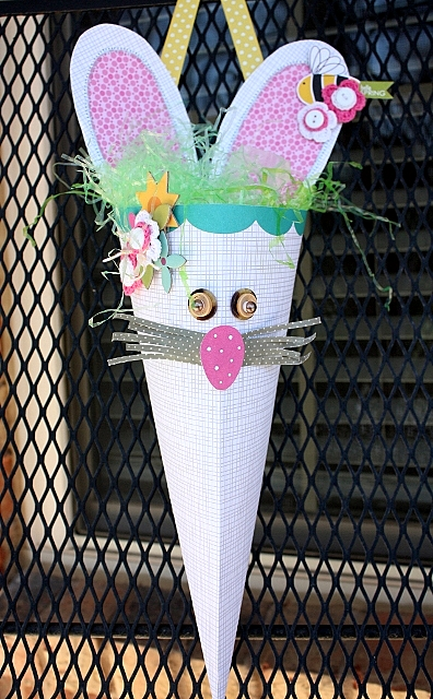 Shellye McDaniel-Altered Project Bunny Cone