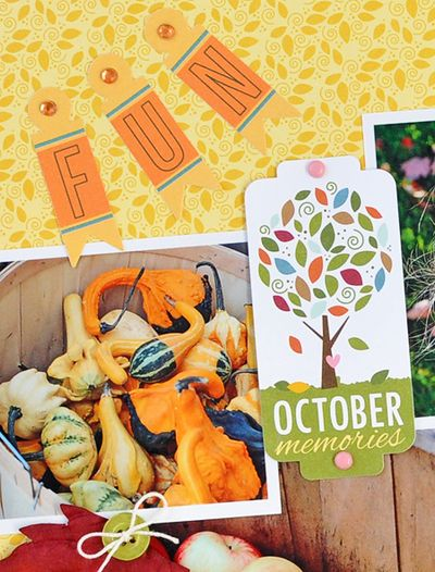 Sheri Reguly _ Fun October Memories _ Layout - detail 1