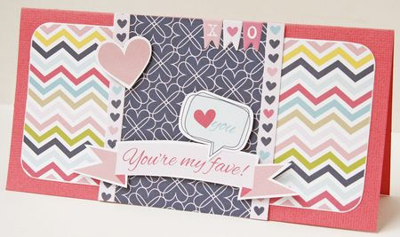 Gretchen McElveen_Kiss Me_You are my fave card