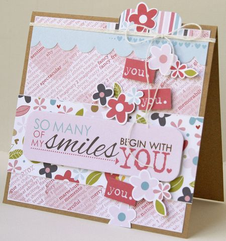 Gretchen McElveen_Kiss Me_So Many Smiles card