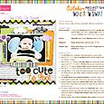 TOO CUTE TO SPOOK PROJECT SHEET 2012