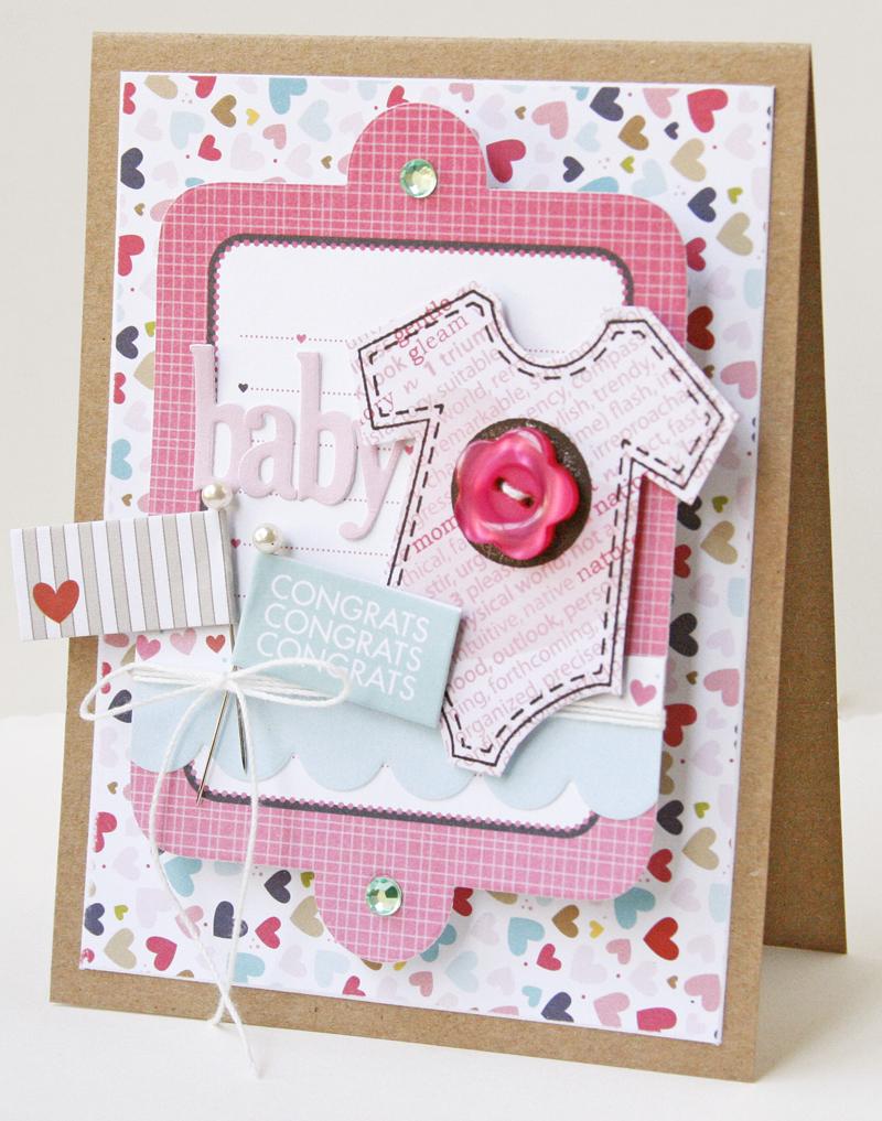 Gretchen McElveen_Unity Stamp card _Baby card
