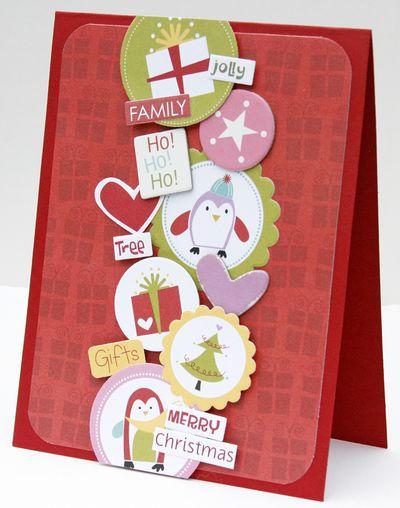 Gretchen McElveen_Christmas card_Ho Ho Ho card