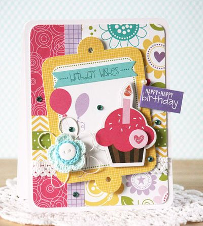 Laurie Schmidlin_Happy Birthday Cupcake_Card