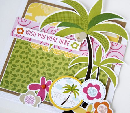 Gretchen McElveen_Sand Surf card_Wish you were here card close up