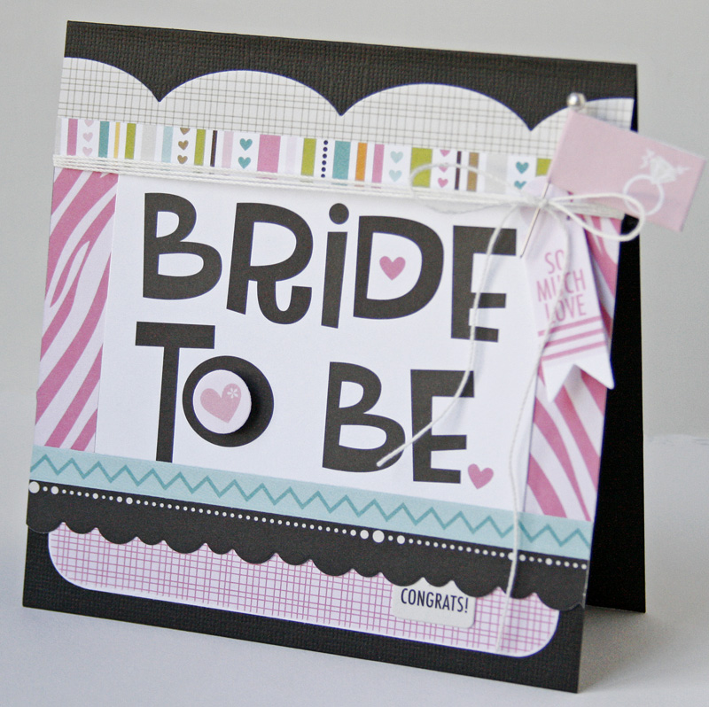 Gretchen McElveen_Engaged at Last_Bride to be card