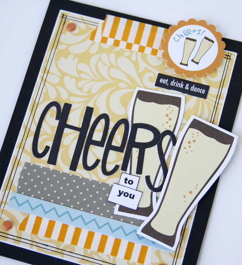 Gretchen McElveen_Engaged at Last_Cheers card close up
