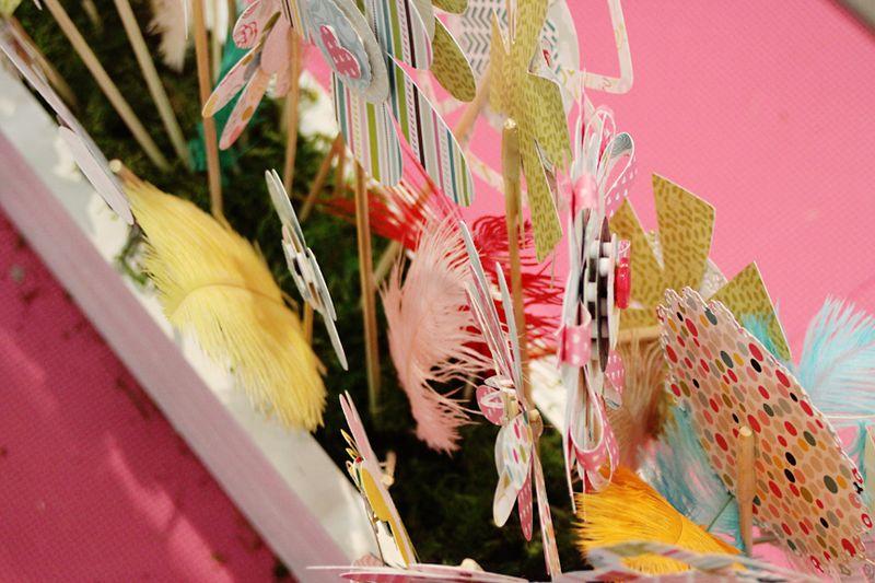 6 FLOWER BOX
