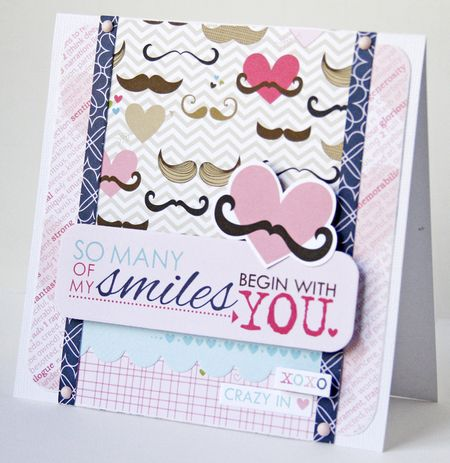 Gretchen McElveen_Kiss me card_So Many Smiles card
