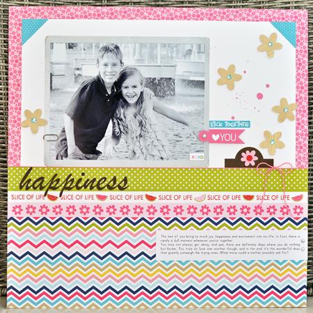 Happiness - layout - sheri reguly