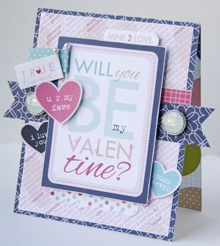 Gretchen McElveen_Epiphany Crafts_Be My Valentine card