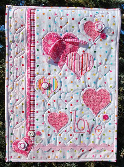 KathyFrye_photo 1 LOVE wall hanging 2013