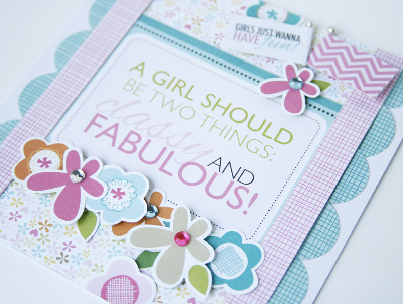 Gretchen McElveen_Classy and Fabulous card_ close up