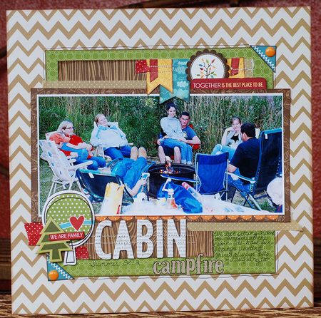 Becki Adams_Cabin Campfire