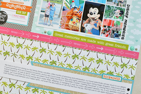 Sheri Reguly _ Layout _ Disney Memories _ Detail 2