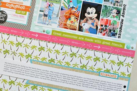 Sheri Reguly _ Layout _ Disney Memories _ Detail 2