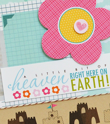 Sheri Reguly - layout - heaven on earth - detail 2