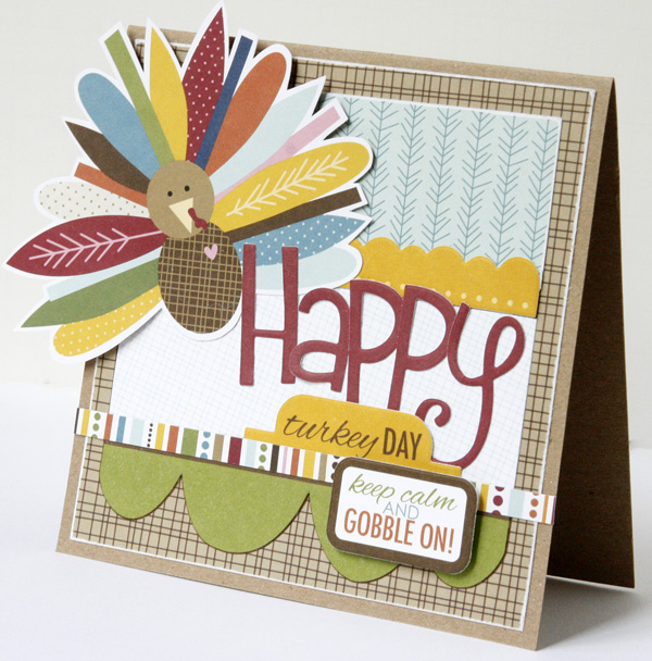 GretchenMcElveen_Thankful card2_Happy Turkey Day card