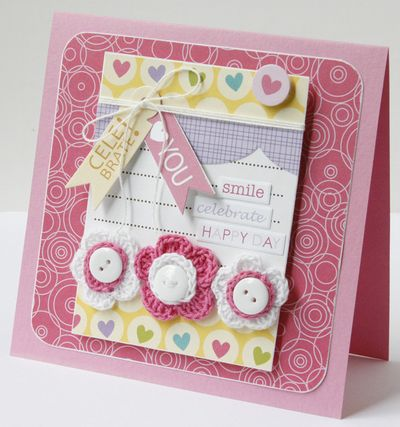 GretchenMcElveen_Crochet Flowers card2_Celebrate