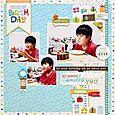 Yohko Takiguchi_happy birthday_layout