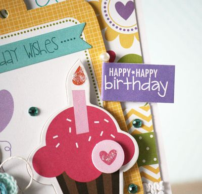 LaurieSchmidlin_HappyBirthdayCupcake (Detail1)_Card