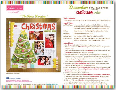 CHRISTMAS WISHES PROJECT SHEET 2012 2