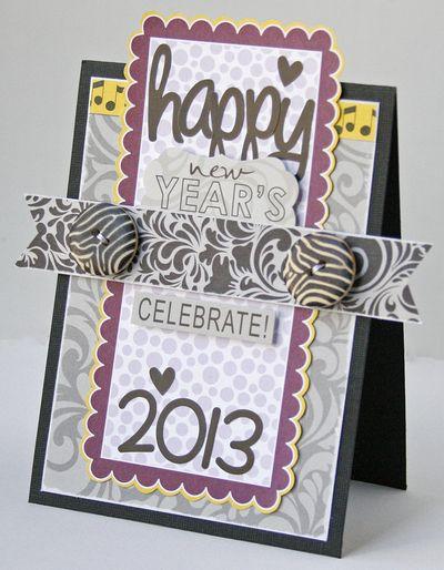 Gretchen McElveen_Socialite card_Happy 2013 card