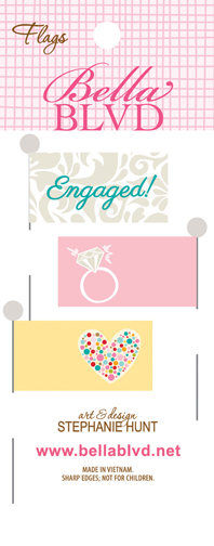 607 ENGAGEMENT FLAGS