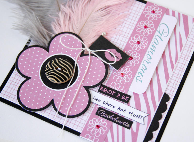 Gretchen McElveen_Feathers_Glamorous card close up2