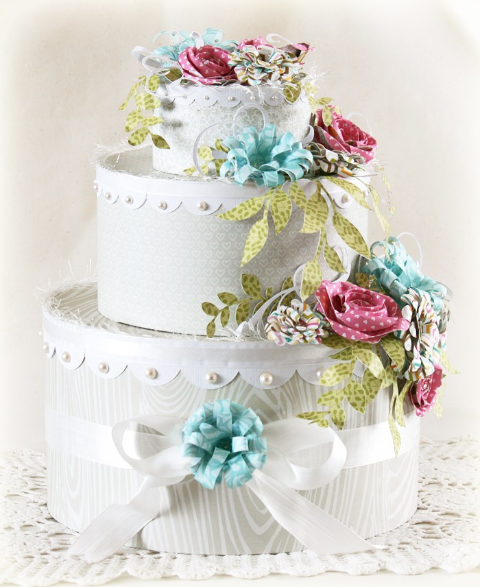Laurie Schmidlin_WeddingCake_AlteredProject