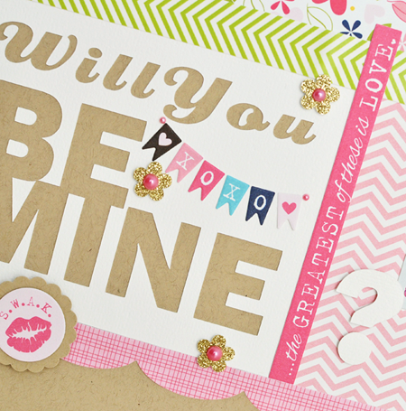 Will You Be Mine - layout - Sheri Reguly - detail 1