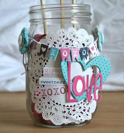WendyAntenucci_Valentine's Decor_candy jar_detail