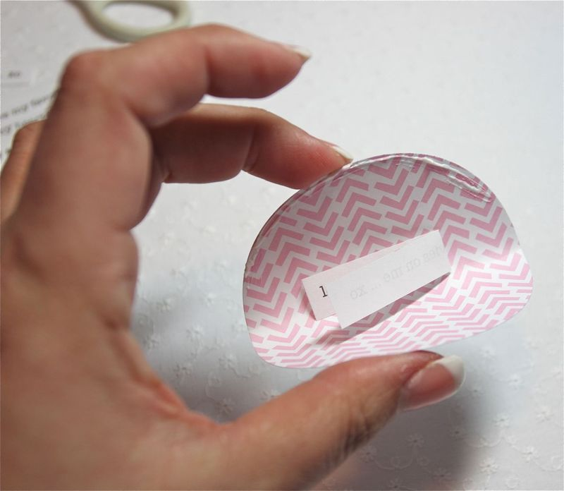Jennifer edwardson FORTUNE COOKIES - mini tutorial 2