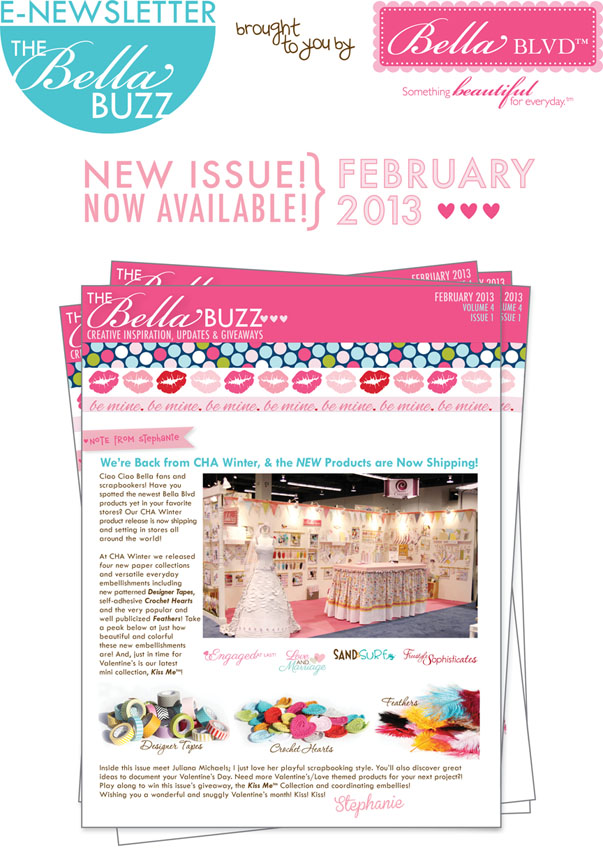 NEW ISSUE NOW AVAILALBE-FEB 2013