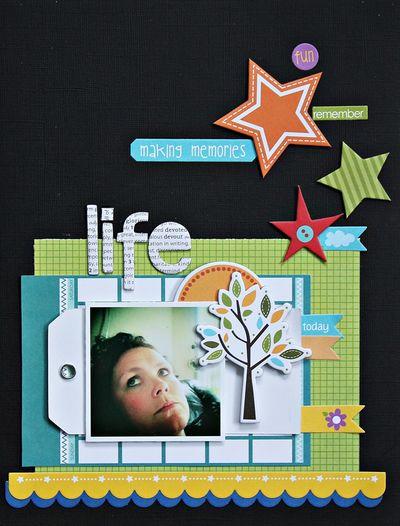 Ann-Christin Larsen, Life