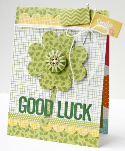 Gretchen McElveen_St Pats Day card_Good Luck card